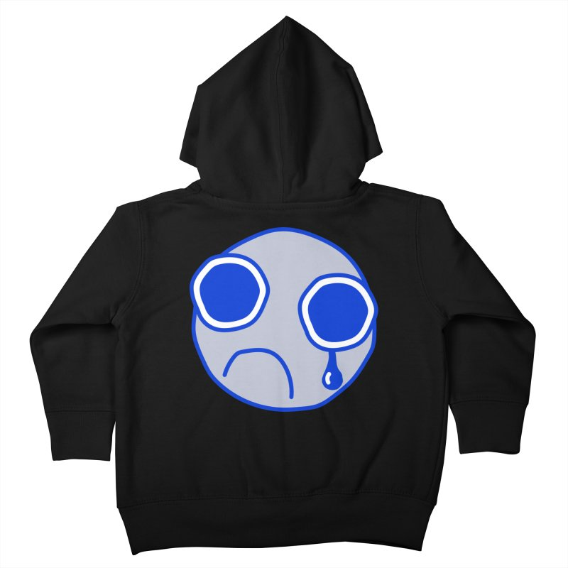 Tfw Sad Face Kids Toddler Zip-Up Hoody by Phancipy's Artist Shop