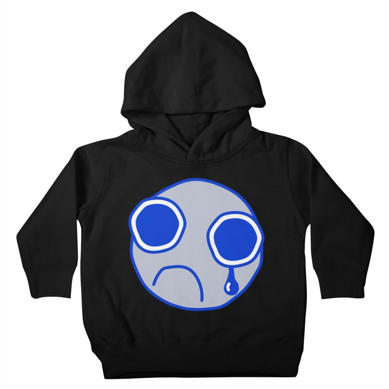 Tfw Sad Face Kids Toddler Pullover Hoody by Phancipy's Artist Shop