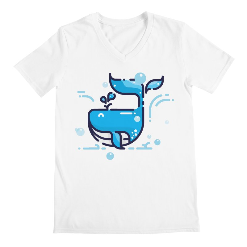 Is it whale done? Men's V-Neck by PhantomPoints's Artist Shop