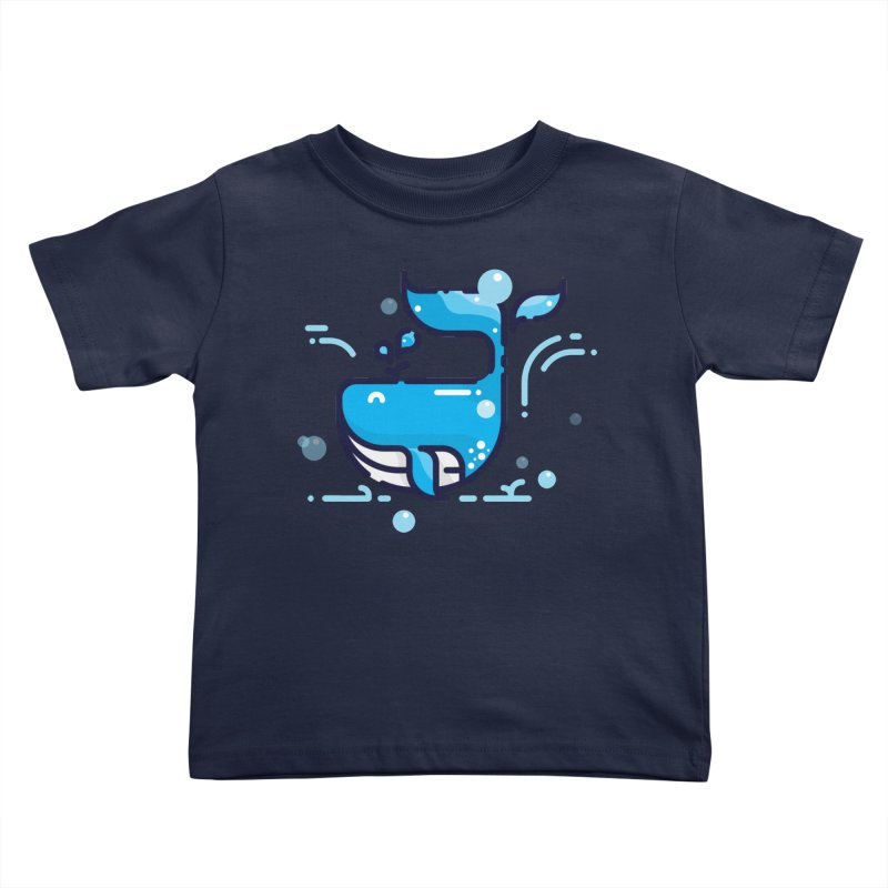 Is it whale done? Kids Toddler T-Shirt by PhantomPoints's Artist Shop