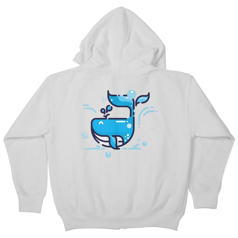 Is it whale done? Kids Zip-Up Hoody by PhantomPoints's Artist Shop