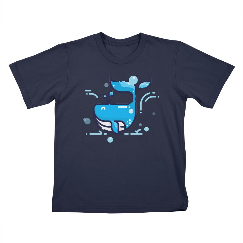 Is it whale done? Kids T-Shirt by PhantomPoints's Artist Shop