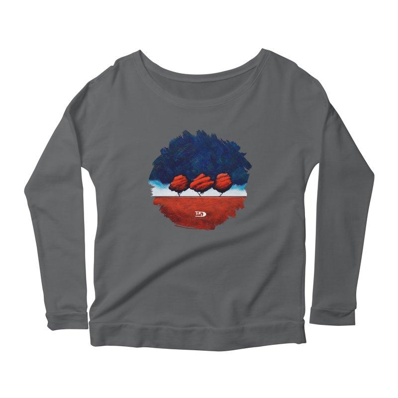 Vermilion Women's Longsleeve T-Shirt by PhilipDeAngeloStudio