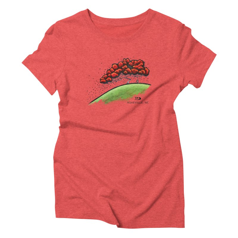 The Swing NC Women's T-Shirt by PhilipDeAngeloStudio