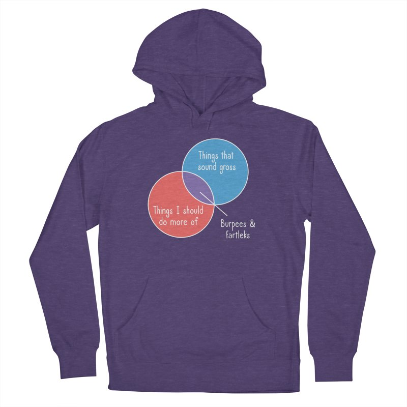 Burpees and Fartleks Women's French Terry Pullover Hoody by Illustrations by Phil