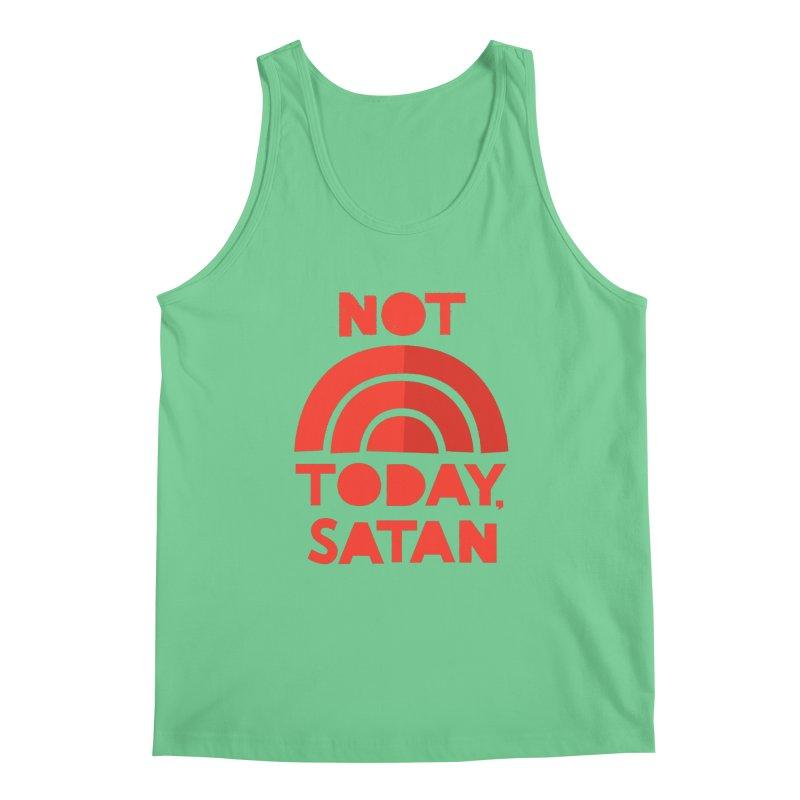 NOT TODAY, SATAN! Men's Regular Tank by Illustrations by Phil