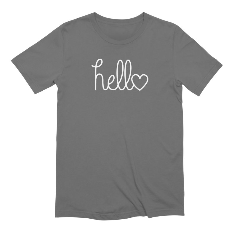 Hello, love Men's T-Shirt by Illustrations by Phil