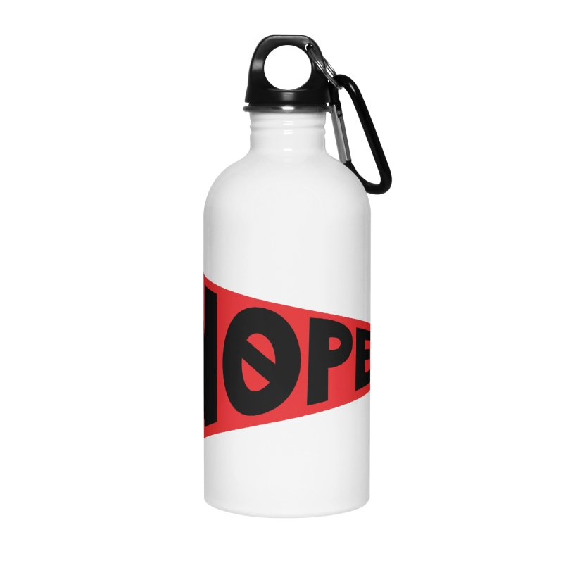 NOPE Accessories Water Bottle by Illustrations by Phil