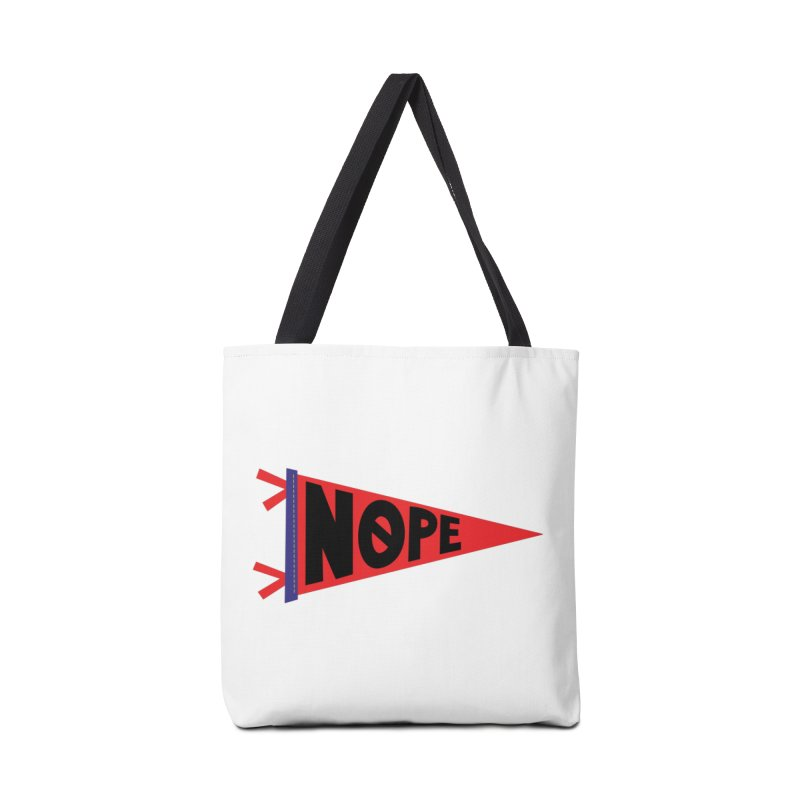 NOPE Accessories Tote Bag Bag by Illustrations by Phil