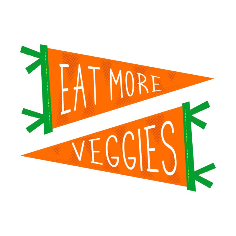 Eat more veggies Kids T-Shirt by Illustrations by Phil