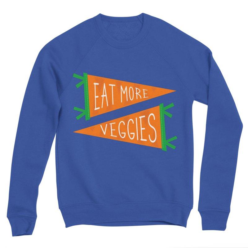 Eat more veggies Men's Sweatshirt by Illustrations by Phil
