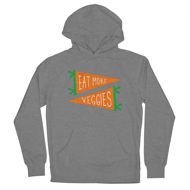 Eat more veggies Women's Pullover Hoody by Illustrations by Phil