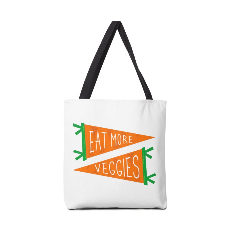 Eat more veggies Accessories Tote Bag Bag by Illustrations by Phil