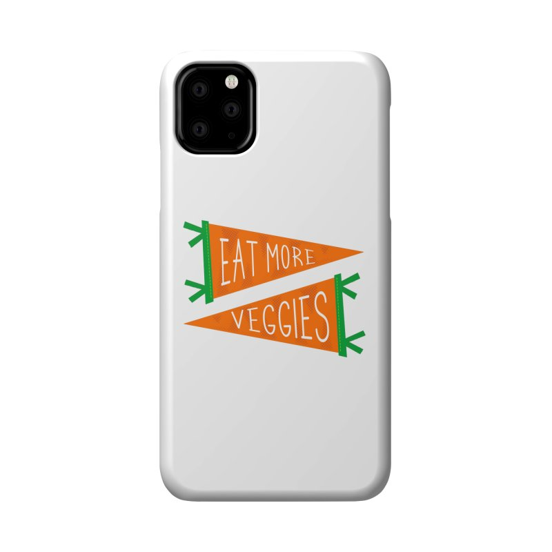 Eat more veggies Accessories Phone Case by Illustrations by Phil