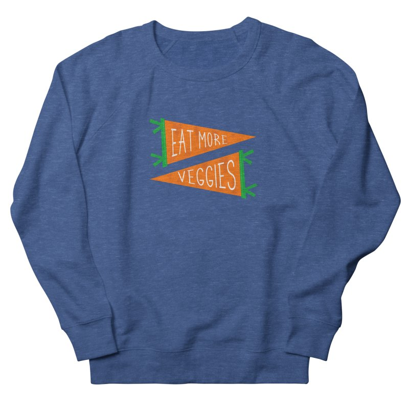 Eat more veggies Men's Sweatshirt by Illustrations by Phil