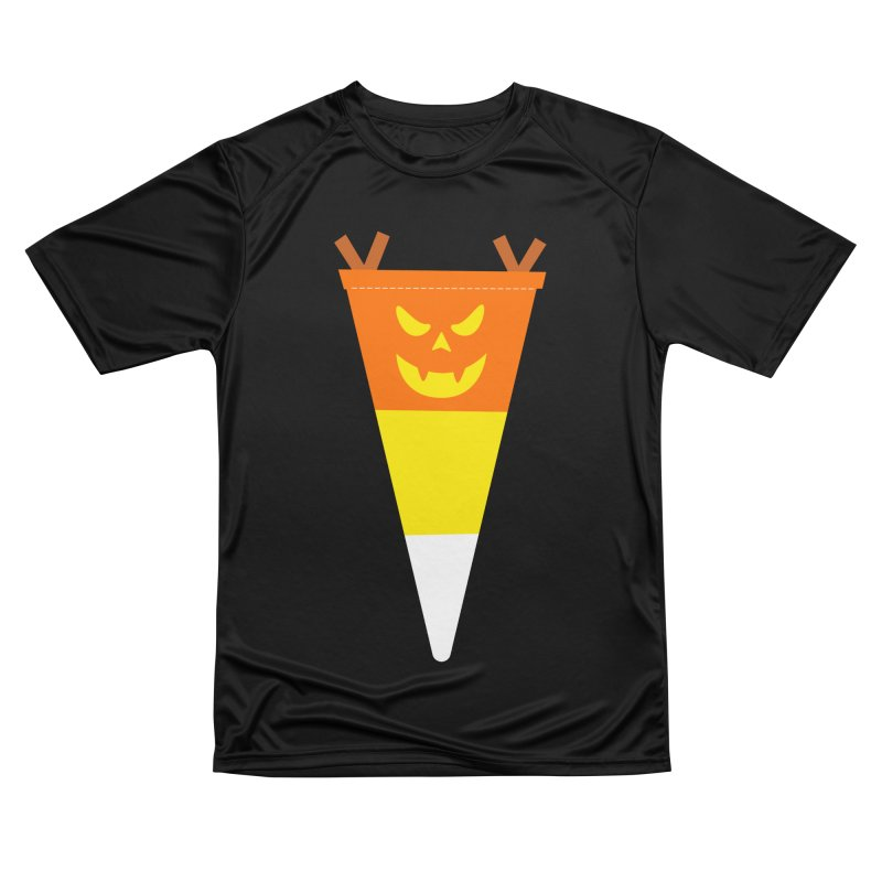 Candy Corn Pumpkin Women's T-Shirt by Illustrations by Phil
