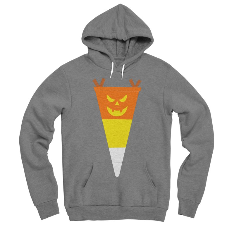 Candy Corn Pumpkin Women's Pullover Hoody by Illustrations by Phil