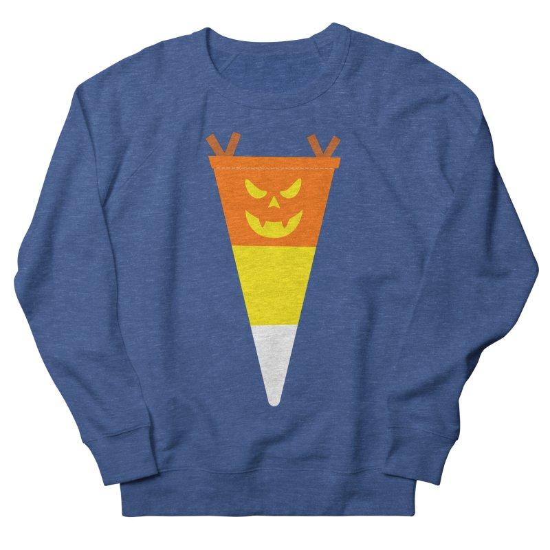 Candy Corn Pumpkin Men's Sweatshirt by Illustrations by Phil