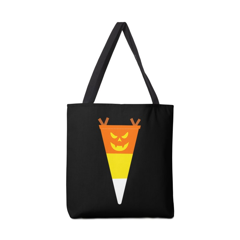 Candy Corn Pumpkin Accessories Tote Bag Bag by Illustrations by Phil