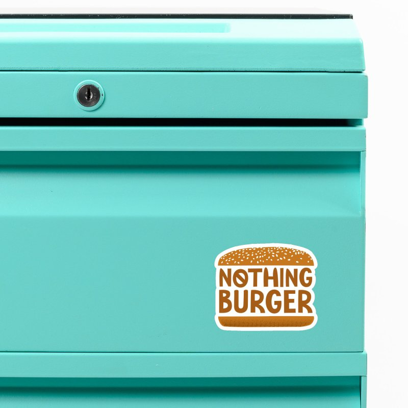 Nothing Burger Accessories Magnet by Illustrations by Phil