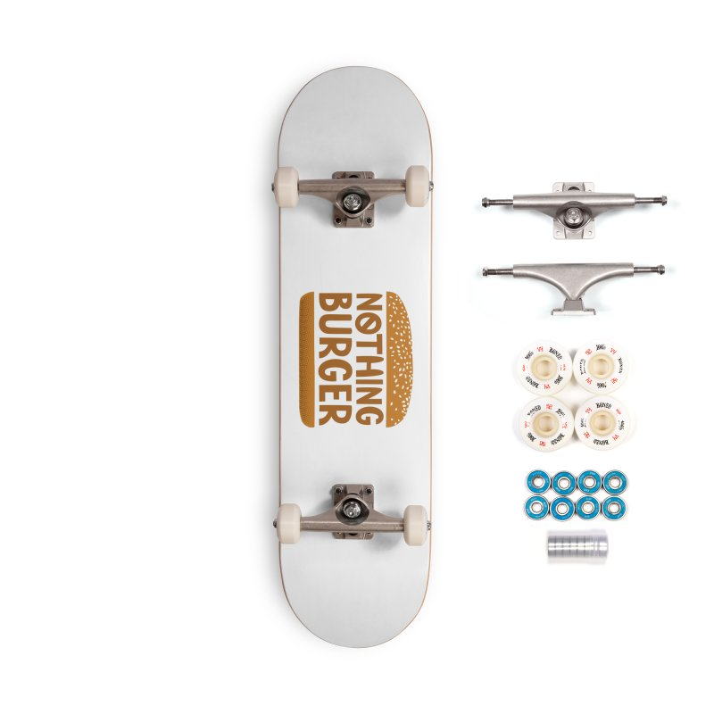 Nothing Burger Accessories Complete - Premium Skateboard by Illustrations by Phil