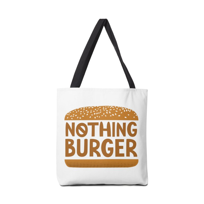 Nothing Burger Accessories Tote Bag Bag by Illustrations by Phil