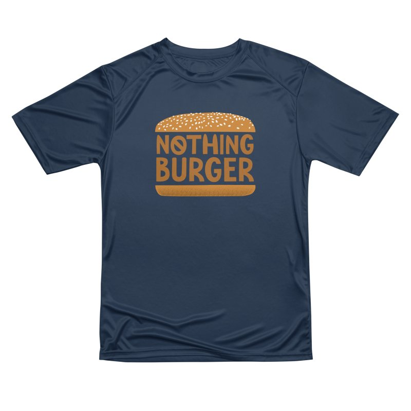 Nothing Burger Women's Performance Unisex T-Shirt by Illustrations by Phil