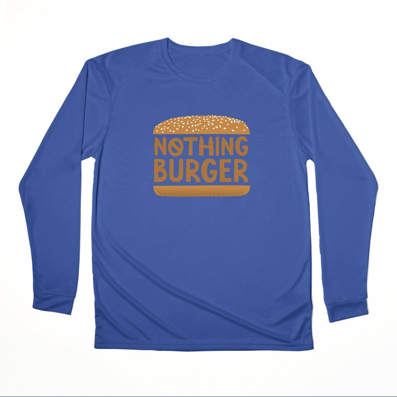 Nothing Burger Men's Performance Longsleeve T-Shirt by Illustrations by Phil