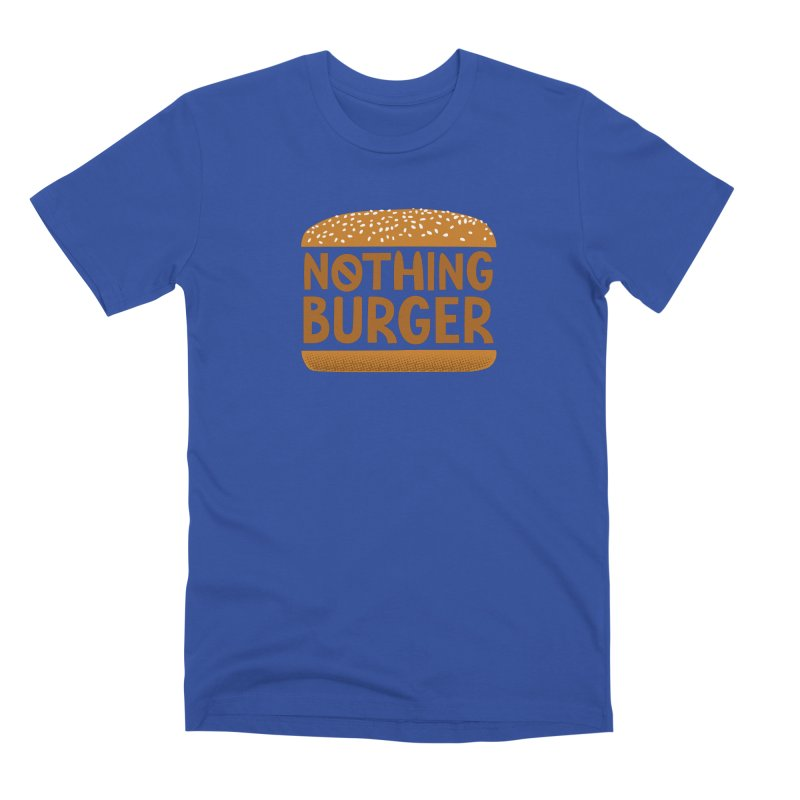 Nothing Burger Men's T-Shirt by Illustrations by Phil