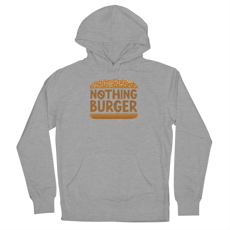 Nothing Burger Men's French Terry Pullover Hoody by Illustrations by Phil