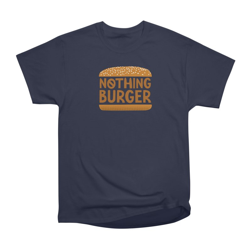 Nothing Burger Women's Heavyweight Unisex T-Shirt by Illustrations by Phil