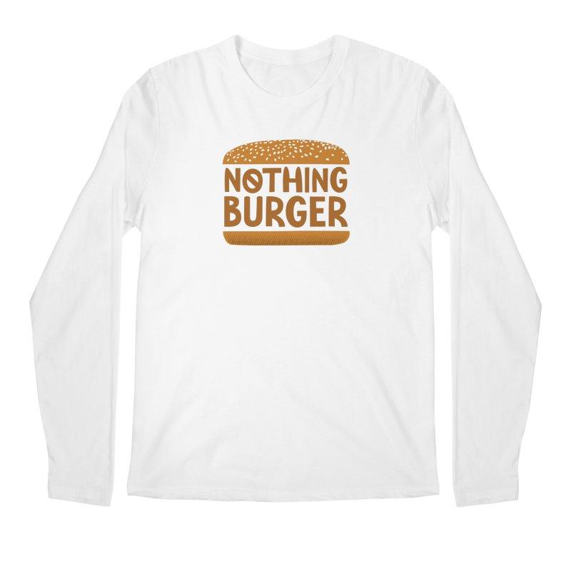 Nothing Burger Men's Regular Longsleeve T-Shirt by Illustrations by Phil