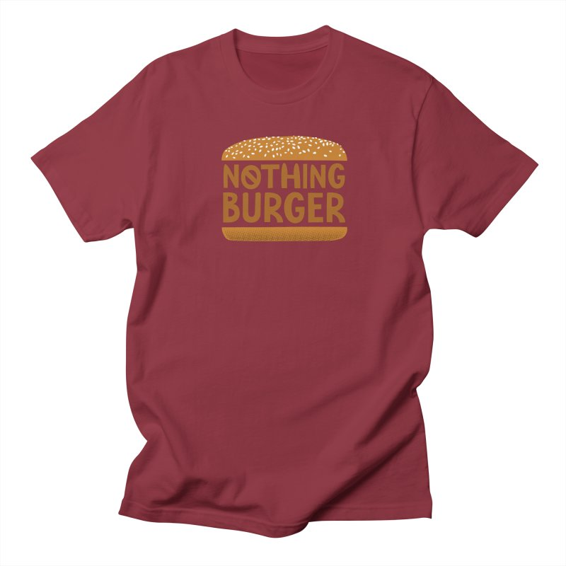 Nothing Burger Men's Regular T-Shirt by Illustrations by Phil