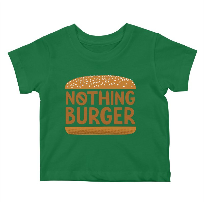 Nothing Burger Kids Baby T-Shirt by Illustrations by Phil