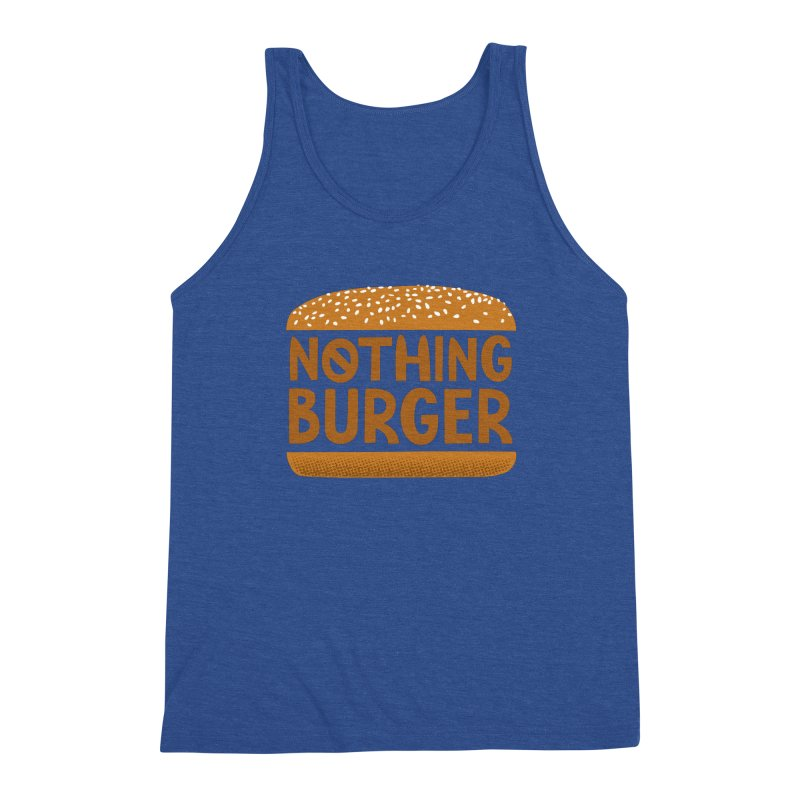 Nothing Burger Men's Tank by Illustrations by Phil