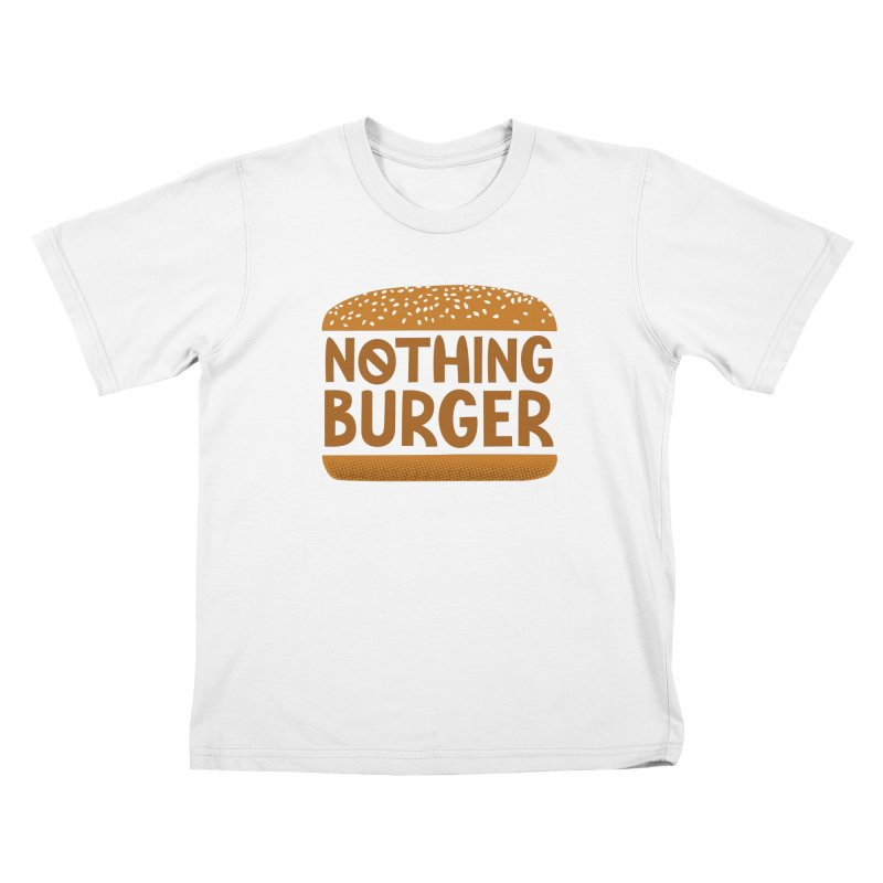Nothing Burger Kids T-Shirt by Illustrations by Phil