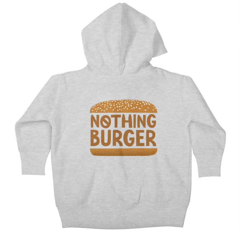 Nothing Burger Kids Baby Zip-Up Hoody by Illustrations by Phil