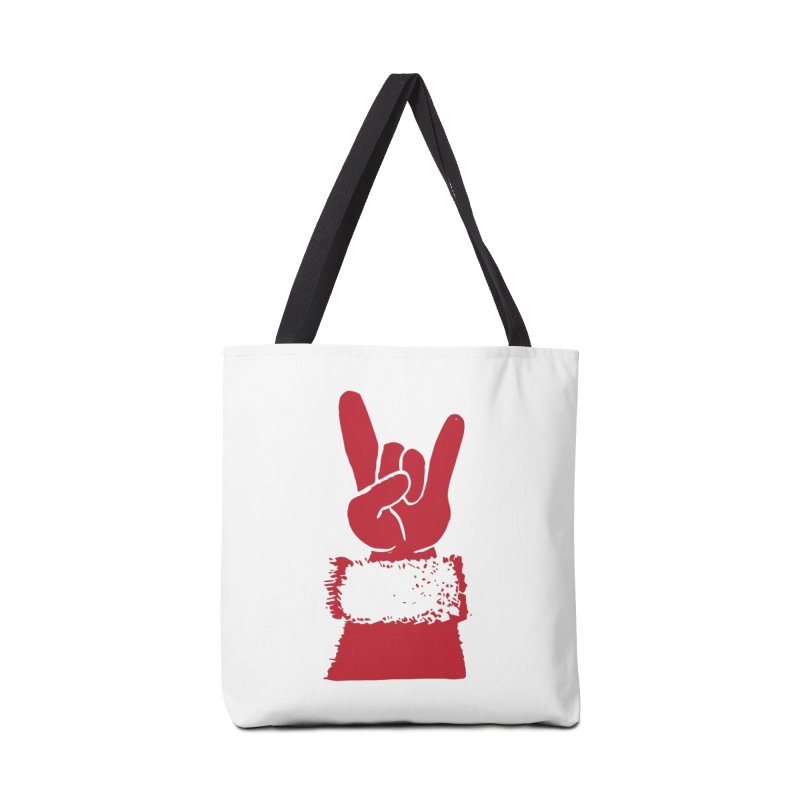 Hail Santa! Accessories Tote Bag Bag by Illustrations by Phil