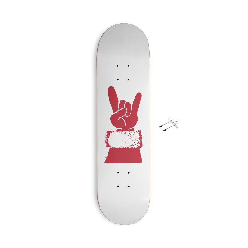 Hail Santa! Accessories With Hanging Hardware Skateboard by Illustrations by Phil