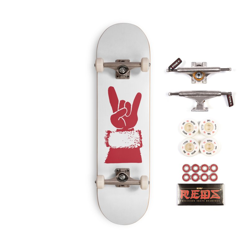 Hail Santa! Accessories Complete - Pro Skateboard by Illustrations by Phil