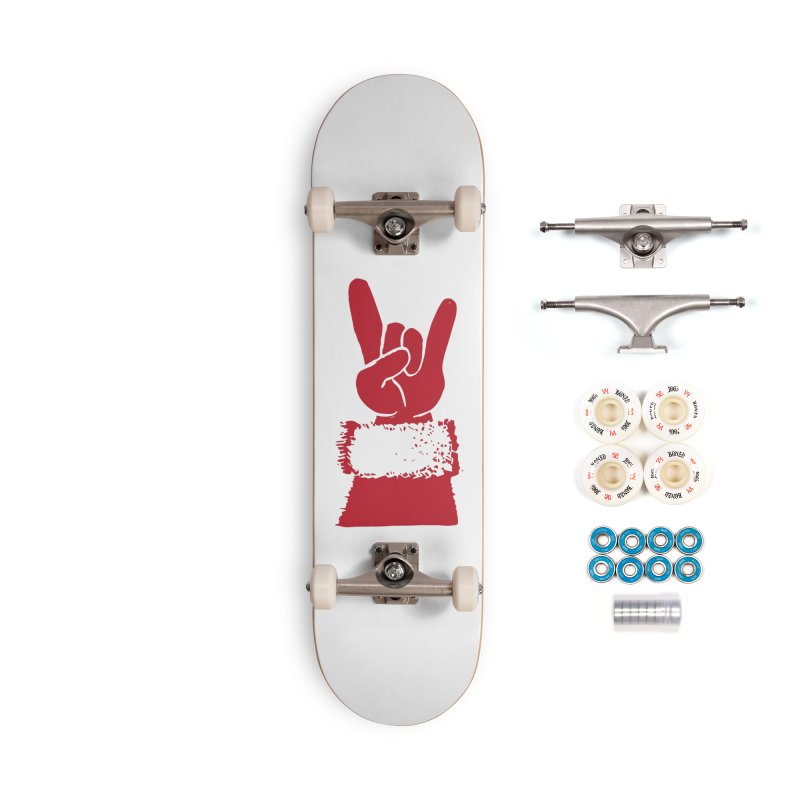 Hail Santa! Accessories Complete - Premium Skateboard by Illustrations by Phil