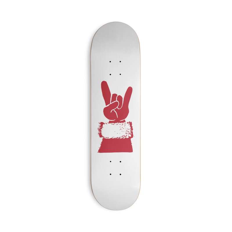 Hail Santa! Accessories Skateboard by Illustrations by Phil