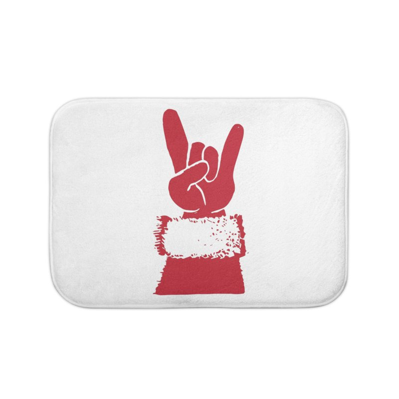 Hail Santa! Home Bath Mat by Illustrations by Phil