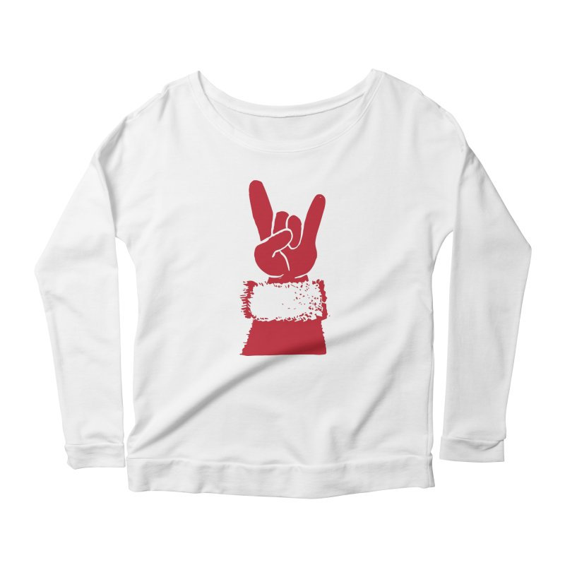 Hail Santa! Women's Longsleeve T-Shirt by Illustrations by Phil