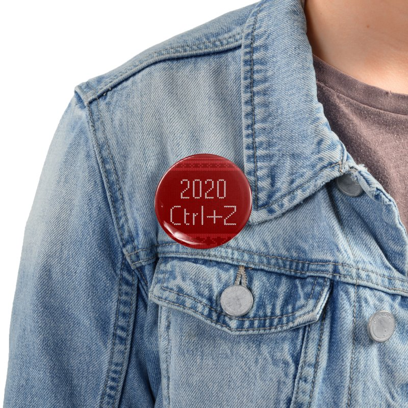 Undo 2020 Accessories Button by Illustrations by Phil
