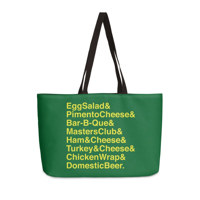 Golf Grub Accessories Bag by Illustrations by Phil