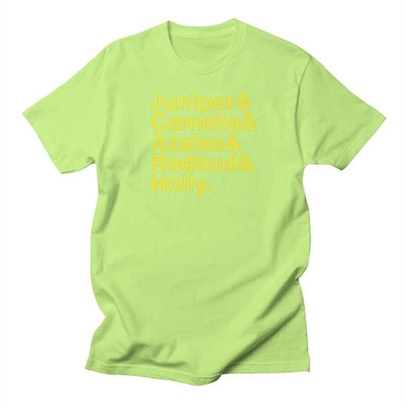 Favorite Holes Women's Regular Unisex T-Shirt by Illustrations by Phil