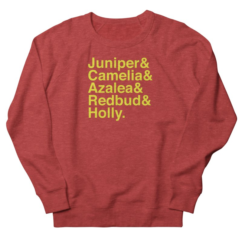 Favorite Holes Women's French Terry Sweatshirt by Illustrations by Phil