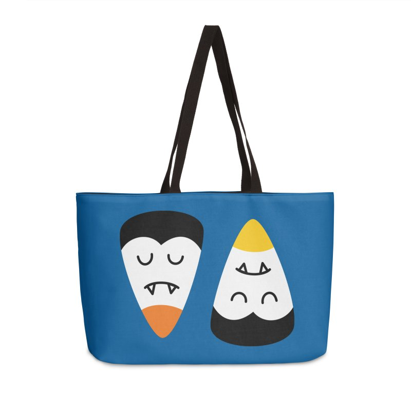 Vampire Candy Corn Accessories Bag by Illustrations by Phil