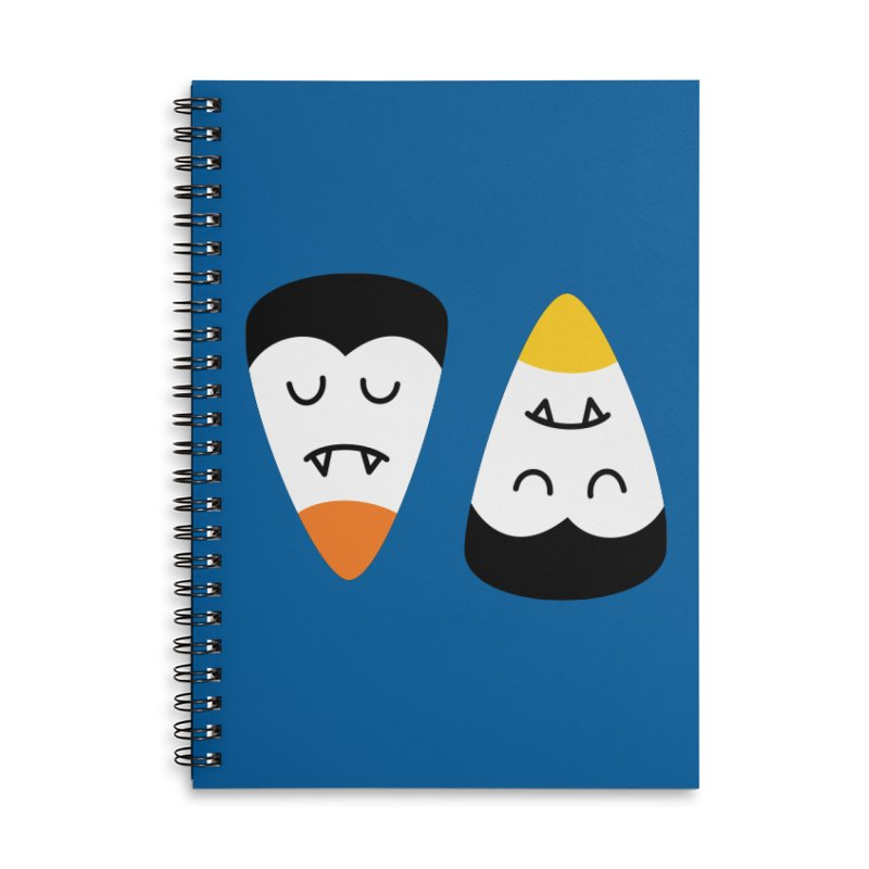 Vampire Candy Corn Accessories Notebook by Illustrations by Phil